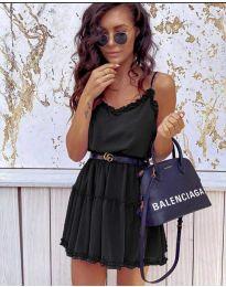 Šaty - kód 7758 - černá