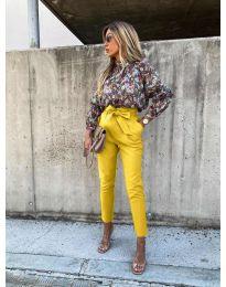 Kalhoty - kód 788 - žlutá