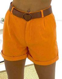 Krátké kalhoty - kód 2236 - 6 - oranžová
