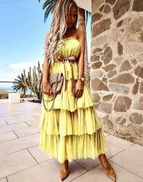 Šaty - kód 1543 - žlutá