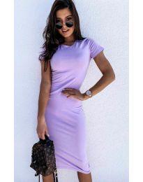 Šaty - kód 682 - světle fialová
