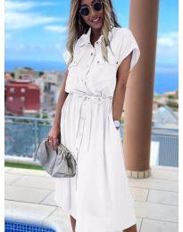 Šaty - kód 0014 - bíla