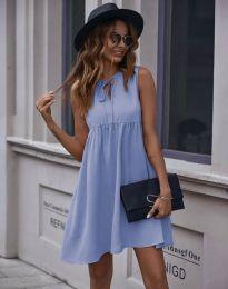 Šaty - kód 0286 - světle modrá
