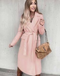 Kabát - kód 0876 - růžová