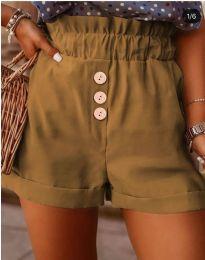 Krátké kalhoty - kód 9383 - hněda