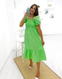 Šaty - kód 3283 - 2 - zelená