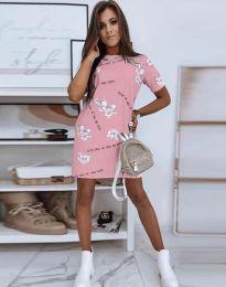 Šaty - kód 2906 - růžová
