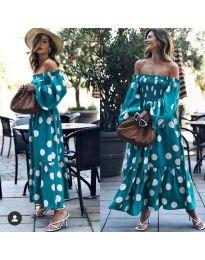 Šaty - kód 9951 - tmavě modrá