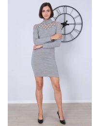 Šaty - kód 6099 - 1 - šedá