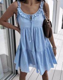 Šaty - kód 2540 - světle modrá