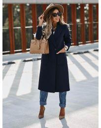 Kabát - kód 9493 - tmavě modrá