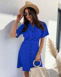 Šaty - kód 8137 - modrá