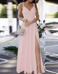 Šaty - kód 8489 - bledě růžová