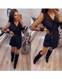 Šaty - kód 822 - černá