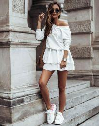 Šaty - kód 12051 - bílá