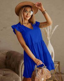 Šaty - kód 6224 - modrá
