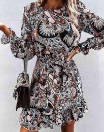Šaty - kód 6448 - vícebarevné