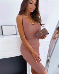 Šaty - kód 0987 - pudrová