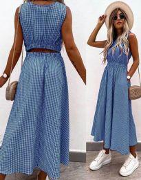 Šaty - kód 2687 - modrá