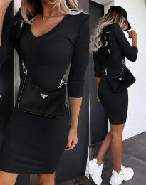 Šaty - kód 7592 - černá
