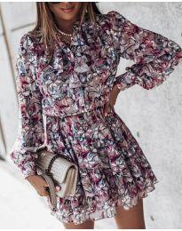 Šaty - kód 6014 - 1 - barevné
