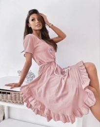 Šaty - kód 11893 - růžova