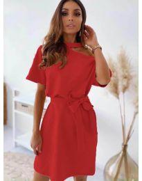 Šaty - kód 0006 - červená
