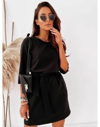 Šaty - kód 778 - černá