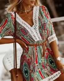 Šaty - kód 8306 - vícebarevné