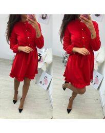 Šaty - kód 691 - červená