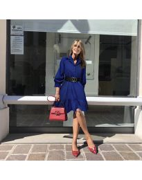 Šaty - kód 960 - tmavě modrá