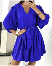 Šaty - kód 6210 tmavě modrá
