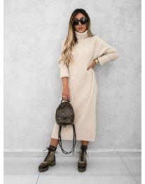 Šaty - kód 0590 - bežová