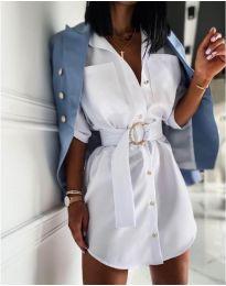 Šaty - kód 976 - bílá