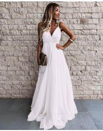 Šaty - kód 5244 - bílá