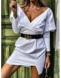 Šaty - kód 1617 - bíla