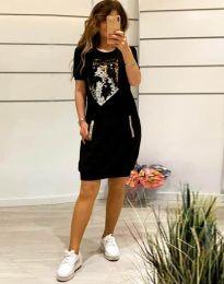 Šaty - kód 7812 - černá
