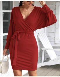Šaty - kód 1197 - bordeaux