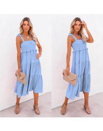 Šaty - kód 7791 - modrý