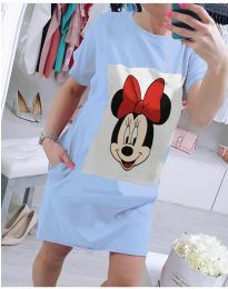 Šaty - kód 618 - modrý