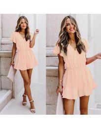 Šaty - kód 674 - růžová