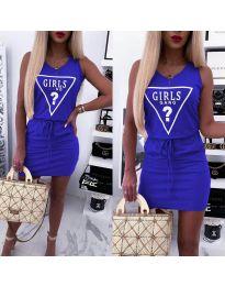 Šaty - kód 2233 - modrá