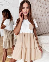 Šaty - kód 2506 - bežová