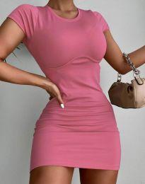 Šaty - kód 12833 - růžová
