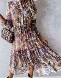 Šaty - kód 9660 - 1 - barevné