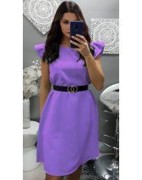 Šaty - kód 703 - fialová