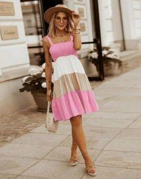 Šaty - kód 11922 - světle růžová