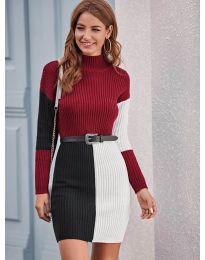 Šaty - kód 9935 - 3 - vícebarevné
