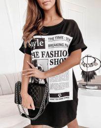 Šaty - kód 7775 - černá