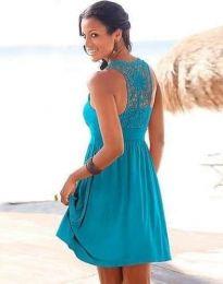Šaty - kód 0254 - 1 - modrá
